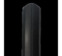 Евроштакетник Полукруглый 117 мм, толщина 0,5мм, Матовый односторонний