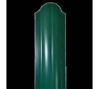 Евроштакетник Полукруглый 120 мм, двухсторонний, толщина 0,45мм