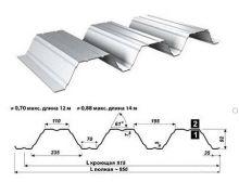 Перфорированный лист Т92-915-0,95 Оцинкованный