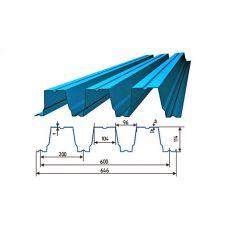 Профнастил окрашенный H114-600-0.8 цена за пог.м