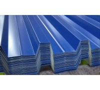 Профнастил окрашенный H57-750-0.65 цена за м2