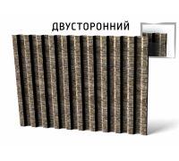 Профнастил С21-1000 под камень (двухсторонний глянцевый)