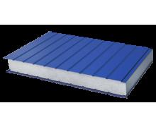 Сэндвич-панель стеновая пенополистерол металл 0,5/0,5мм толщина 200мм