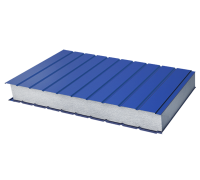 Сэндвич-панель стеновая пенополистерол металл 0,6/0,6мм толщина 100мм