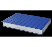 Сэндвич-панель стеновая пенополистерол металл 0,6/0,6мм толщина 50мм