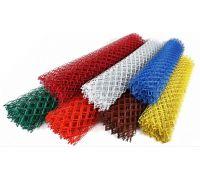 Сетка рабица с полимерным покрытием / рулон: 1,8 Х 10 м, размер: 55*55 (д. 2,5)