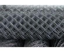 Сетка рабица стальная светлая / рулон: 1,5 Х 10 м, размер: 50*50 (д. 2,5)
