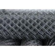 Сетка рабица стальная светлая / рулон: 1,5 Х 10 м, размер: 25*25 (д. 1,6)