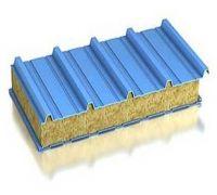 Сэндвич-панель кровельная минплита металл 0,5/0,5мм толщина 50мм