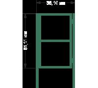 К 1С Калитка каркас H 1,5м L 0,8м